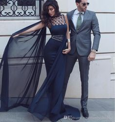Mermaid Chiffon Prom Dress Dark Navy Dubai African Sexy Long Evening Dresses Dresses Party Evening Celebrity Dresses Prom Dresses Formal Dresses Lace Evening Dresses Online with $157.72/Piece on Rosemarybridaldress's Store | DHgate.com