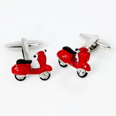 Vintage Moto Cuff Links now featured on Fab.