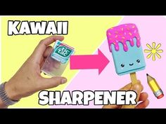 DIY SCHOOL SUPPLIES for Back to School | Easy & Cute NUTELLA SHARPENER - YouTube