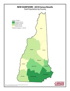 Vermont Became The Th State And The First Admitted To The United - New hampshire population map