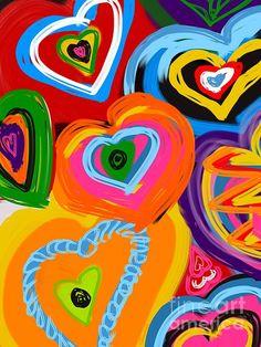 Title: Untamed Heart Artist: Christine Fournier Medium: Digital Art - Digital Painting Ipad