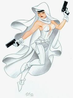 """Bruce Timm's """"Ghost"""""""