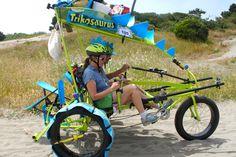 Trikosaurus / Jankosaurus on the dunes at the 2014 Kinetic Grand Championship. http://threefeetofair.wordpress.com