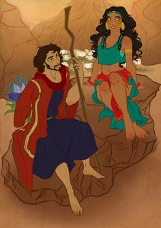 The Prince of Egypt : Moses and Tzipporah  It might be Dreamworks but whatever. (: