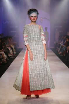 Lakmé Fashion Week – Anju Modi at LFW SR 2014