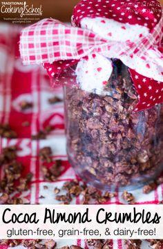 Cocoa Almond Crumbles