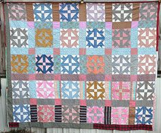 Vintage Handmade Quilts Patchwork Quilt Antique by TattedPicker,