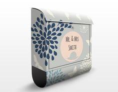 Individualisierbarer Briefkasten mit Zeitungsfach - No.JS311...