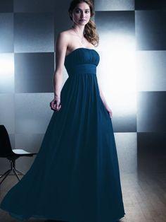 Elsie-Vestido de Damas de Honor em tecido de seda - dresseshop.pt
