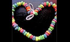 Fruit loops necklace - childhood memories!!