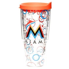 Miami Marlins Tervis 24oz. Bubble Up Wrap Tumbler with Lid - $19.99