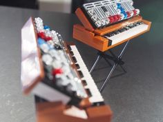 Andy G made these little Minimoog Synthesizers out of Lego bricks, If 10,000 people approve his proposal on Lego Ideas, Lego might create a kit and sell them. Go retro-analog with these miniaturize…