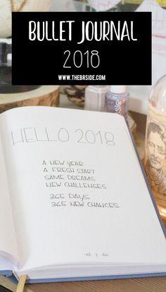 Bullet Journal 2018 Pinterest
