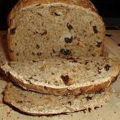 Pão de uva-passa na máquina de pão @ allrecipes.com.br