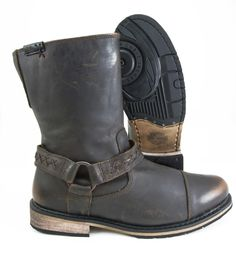 Harley-Davidson Constrictor Antiqued Brown Boot
