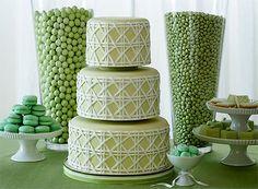 Stylish St. Patricks Day Treat Table