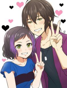 Ito and Kouji Anime Lemon, Rainbow Live, Anime Stories, Pretty Cure, Anime Ships, Httyd, Anime Couples, My Idol, King