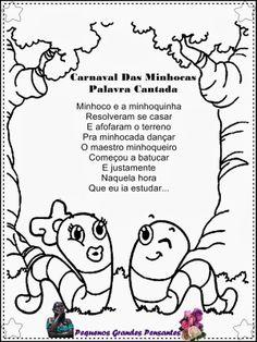 Pequenos Grandes Pensantes.: Músicas Para Carnaval Infantil
