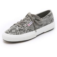 Superga 2750 Cotu Snake Sneakers (105 CAD) ❤ liked on Polyvore featuring  shoes 231cb95ee5a
