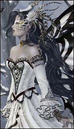 Queen Of Owls by Nene Thomas Gothic Fantasy Art, Gothic Fairy, Fantasy Women, Fantasy Artwork, Dark Fantasy, Fairy Pictures, Fantasy Pictures, Magical Creatures, Fantasy Creatures