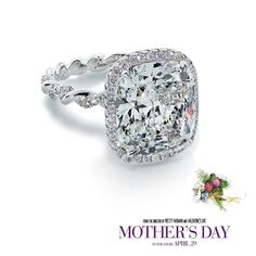"Here's a closer look at the beautiful Forevermark diamond ring featured in ""Mother's Day"", the latest star-studded movie from the director of ""Pretty Woman."" In theatres tomorrow.  #mothersday #mothersdaymovie #diamond #engagementring #ring #jewelry"