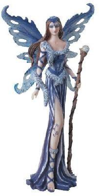 Fairy Collection Blue Pixie Desk Decoration Figurine