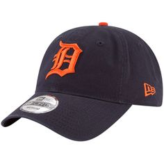 e93acc6d83097 Detroit Tigers New Era Core Fit Replica 49FORTY Fitted Hat – Navy