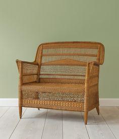 Rattan Sofa : The Apartment Decor, Furniture, Rattan Sofa, Outdoor Furniture, Sofa, Furnishings, Interior, Rattan, Home Decor