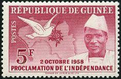 Ahmed Sékou Touré.Yvert et Tellier GN 3; Issued on: 1959-01-05; Format: Stamp; Emission: Commemorative;