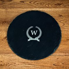 Initial Of Honour Personalised Round Slate Cheese Board – Luxe Gift Store