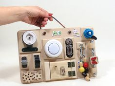 Carseat Travel Sensory Kids Activity Montessori Toy Dementia