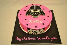 Client wanted a Star Wars Cake for her daughter. Found a similar cake on here, so thanks CC for the inspiration! I used black disco dust o...