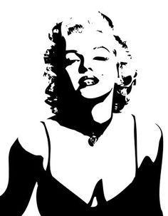 Photo of Marilyn Monroe for fans of Marilyn Monroe 16655760 Pop Art Marilyn, Marilyn Monroe Stencil, Marilyn Monroe Kunst, Marilyn Monroe Tattoo, Marilyn Monroe Painting, Marilyn Monroe Portrait, Marilyn Monroe Photos, Black And White Art Drawing, Black And White Portraits