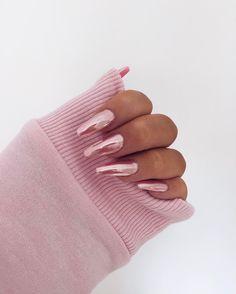 •• Shades of Blush | Nails | Chrome Pink ••
