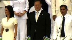 Toma de posesión de J. C. Varela como nuevo presidente de Panamá.