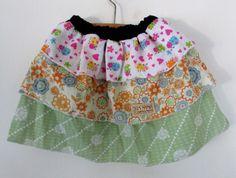 Girl Skirt Trio-Decker