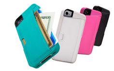iPhone Wallet Case: Q Card Case for iPhone 4S / iPhone 4—A nice slim wallet case for iPhone (would be perfect for going out, when a couple of cards and some cash is all I need)