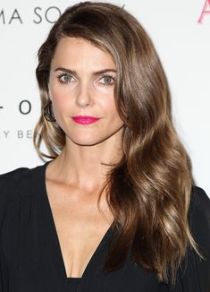 Keri Russell's smooth waves