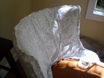 Upholstered chair photos