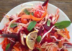 Sprød salat med sommervinaigrette   Woman.dk