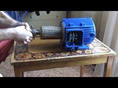 Асинхронник на магниты 1,5 кВт - YouTube