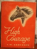 High Courage by C.W. Anderson