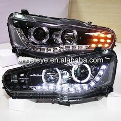 2008-2011 Kawasaki Ninja 250R 06-08 650R HID Projector Headlight angel eyes