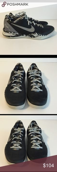 """Nike Kobe Bryant VIII 8 Sustem PP Shoes Size 8 Kobe VIII 8 System PP """"Phillipines Pack"""" shoes, black and silver/gray, size 8, style 613959-001. Excellent condition from a smoke free home. Nike Shoes"""