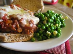 Sloppy Lentils in the Crockpot.  Healthy lentil sloppy joes.  Worth a try since I LOVE lentils