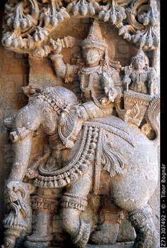 Keshava Temple, Hoysala Architecture. Somnathpur. Karnataka State. India.