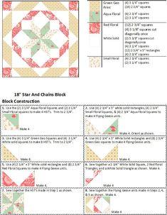 Resplendent Sew A Block Quilt Ideas. Magnificent Sew A Block Quilt Ideas. Quilting Board, Quilting Tips, Quilting Tutorials, Quilting Designs, Quilting Projects, Sewing Projects, Patch Quilt, Quilt Blocks, Star Quilt Patterns