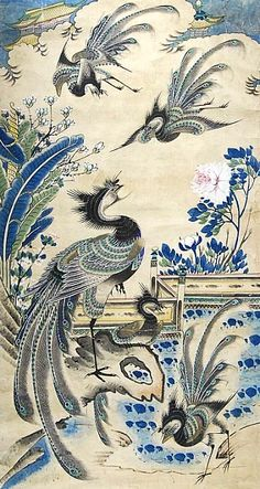 Unknown (Chinese)    Phoenixes Gathering    19th centur