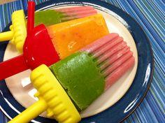 Orange Creamsicle Popsicles - Vegan