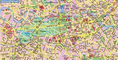 Mappa di Berlino - Cartina di Berlino